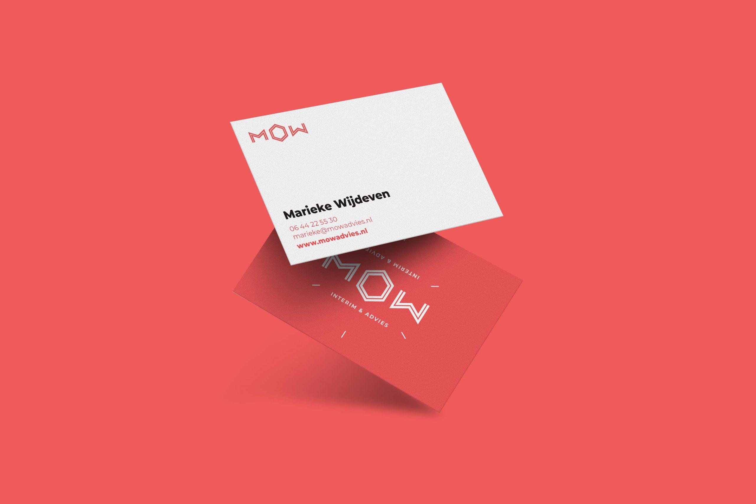 Free Floating Business Card Mockup copy